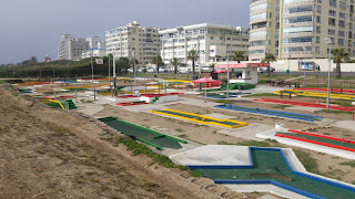 The Putt-Putt miniature golf course in Three Anchor Bay in Moullie Point Sea Point, Cape Town, South Africa by PJ Goedhals 2 May 2019