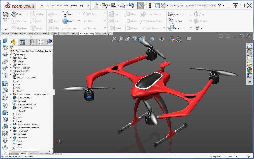 3D Modeling Tool SolidWorks