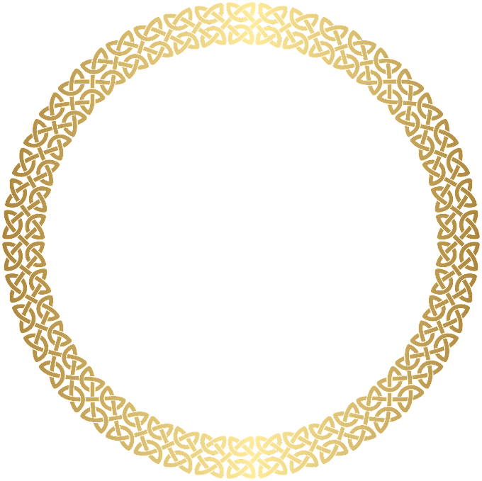 Round brown frame, , Round Border Frame Gold, blue, white, plate png free png