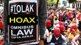 hoax omnibuslaw