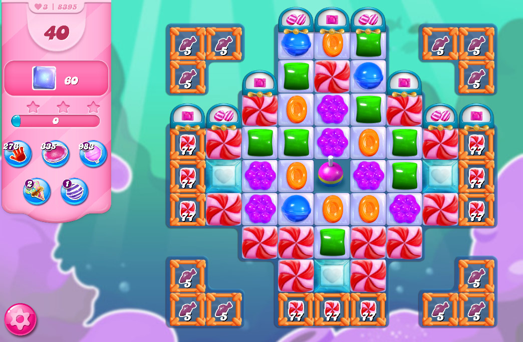 Candy Crush Saga level 8395