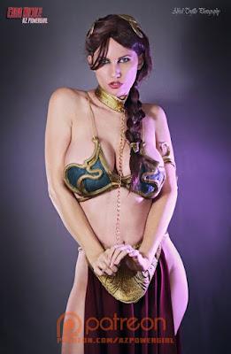 AZ Powergirl Cara Nicole Princess Leia