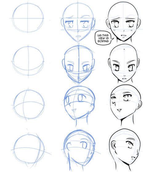 How to Draw Manga Faces Featured Image