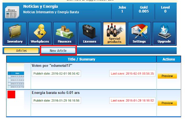 publicar periodico marketglory