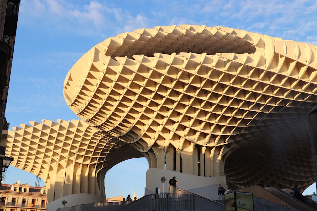 Visit Seville and see the Metropol which is built over Roman remains