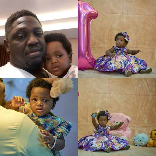 You were born prematurely, But God never left your side- Rapper lllbliss celebrates his Daughter birthday as she turns 1 Today (Photos)