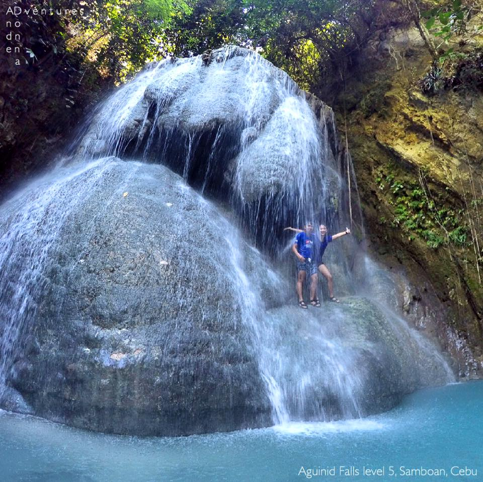 Aguinid Falls in Cebu