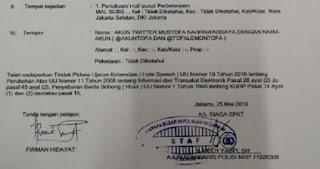 Politikus PAN yang juga Tim BPN, Mustofa Nahrawardaya Ditangkap Polisi