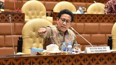 Bahas Rencana Kerja dan Anggaran, Kemendes PDTT Rapat dengan Komisi V DPR RI