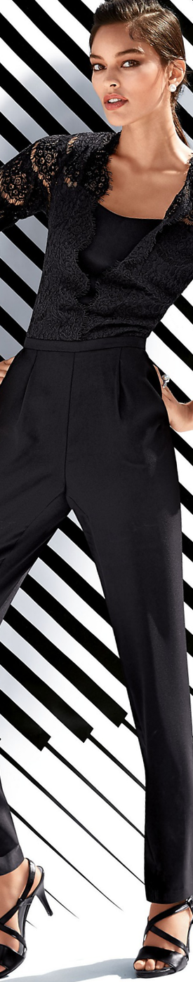 MADELEINE Black Jumpsuit