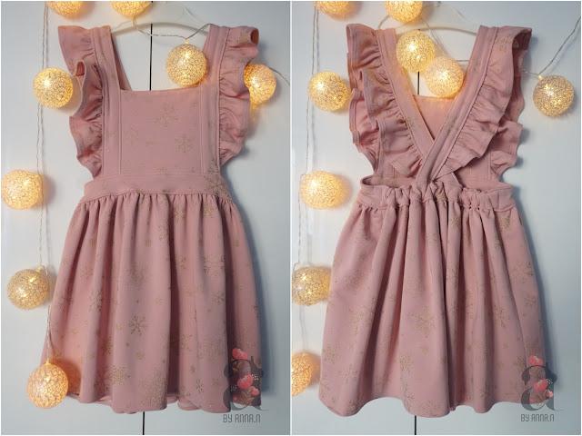 Sukienka idealna / Flutter Pinafore Dress