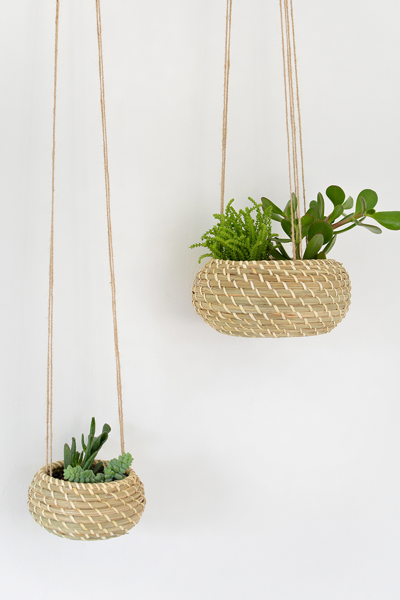 ikea hack - hanging planter