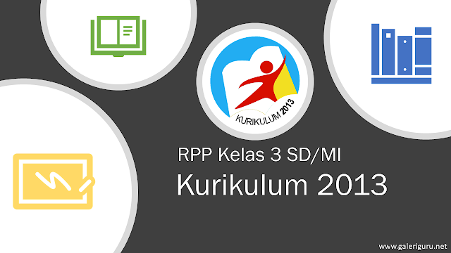 Download RPP Kelas 3 SD/MI Semester 2 Kurikulum 2013 Revisi 2018