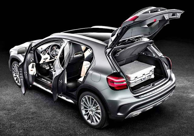 Mercedes-Benz GLA 2018 (GLA 200 y Mercedes-AMG GLA 45 4Matic)