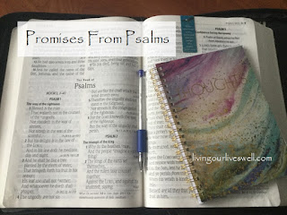 Meditating on God's promises found in Psalm 33:18