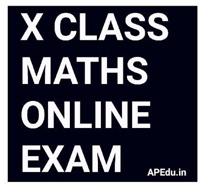 10th Class Mathematics online Exam special.