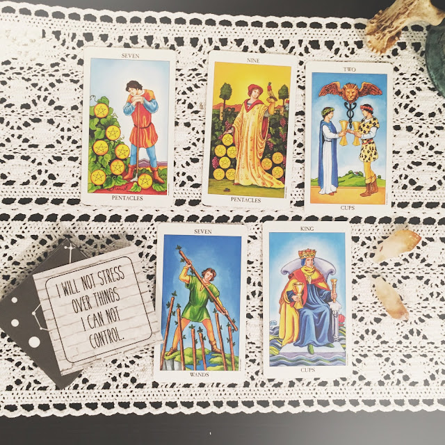 Encouraging  Tarot Card Spread