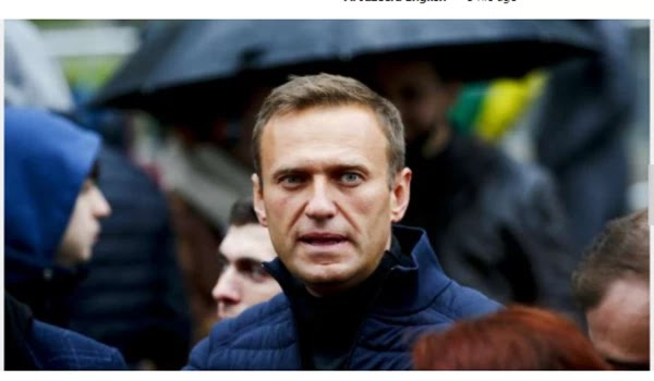 """Navalny blamed Russian intelligence for the """"poisoning"""" attack"""