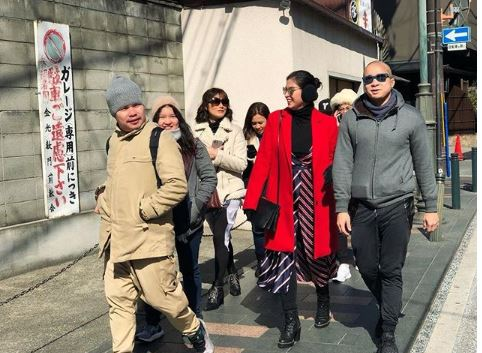 Local Celebs That Spends Their Vacation In 'The Land of the Rising Sun', Japan!