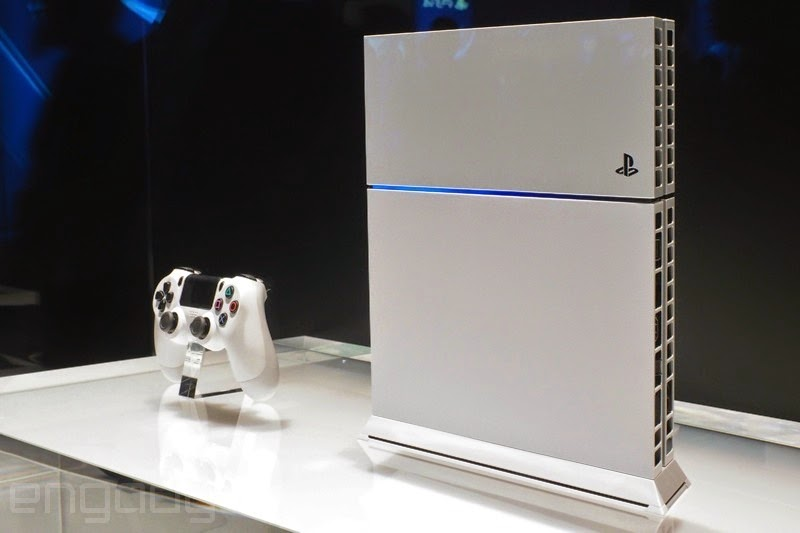 PlayStation 4 Blanca