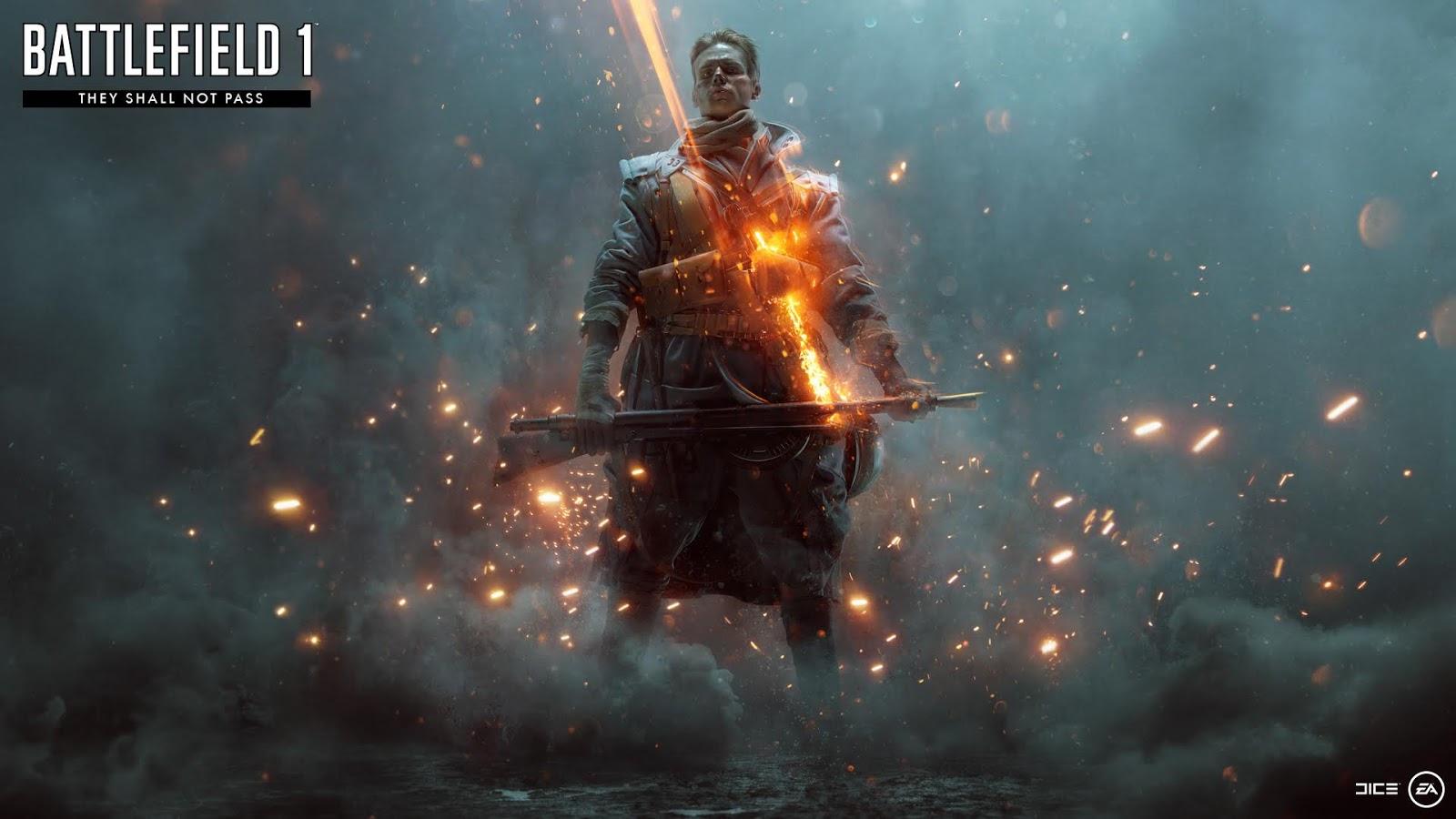 No te pierdas el tráiler de la expansión de Battlefield 1, They Shall Not Pass, 14 de marzo