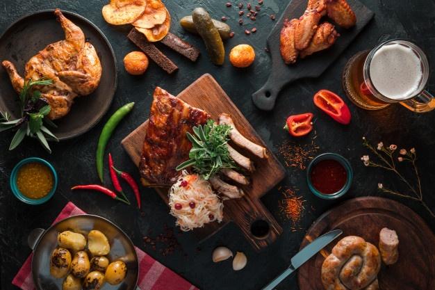 تتبيلات مختلفة للدجاج واللحم والأسماك