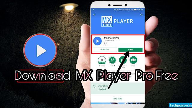 mx player pro full apk download