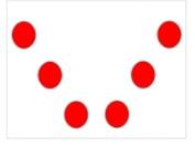 formasi tarian huruf V