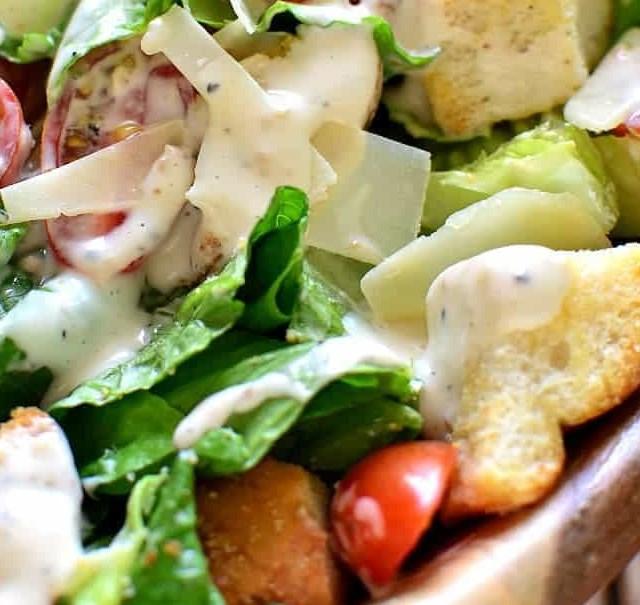 BLT CAESAR SALAD #healthydiet #saladrecipe