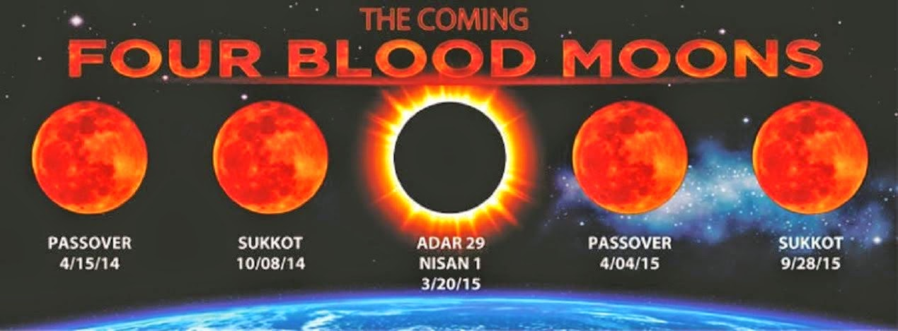 THE FOUR BLOOD MOONS OF 2014