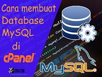Cara Terbaru Membuat Database MySQL di cPanel