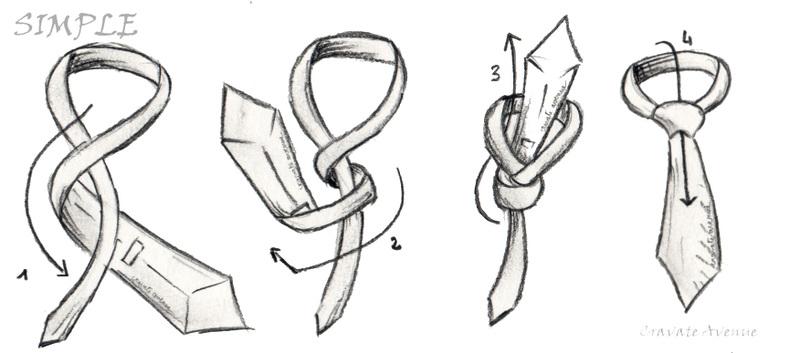 aprenede a hacer el nudo de corbata paso a paso
