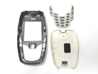 Casing Hape Nokia 6600 Jadul New Original 100% Plus Keypad Langka
