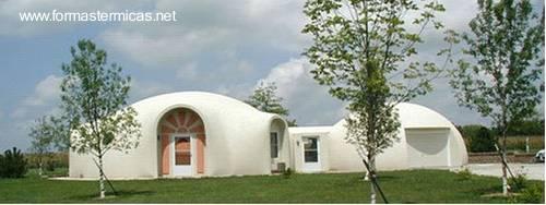 Estructuras domo para habitar como vivienda