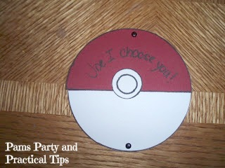 How to make your own Pokemon Invitations