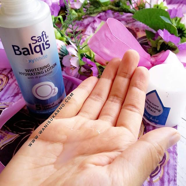 cara memakai safi balqis oxywhite, safi balqis oxywhite pelembap gel, safi balqis oxywhite moisturizing gel, safi balqis, safi balqis oxywhite