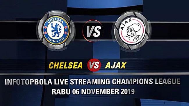 live streaming chelsea vs ajax