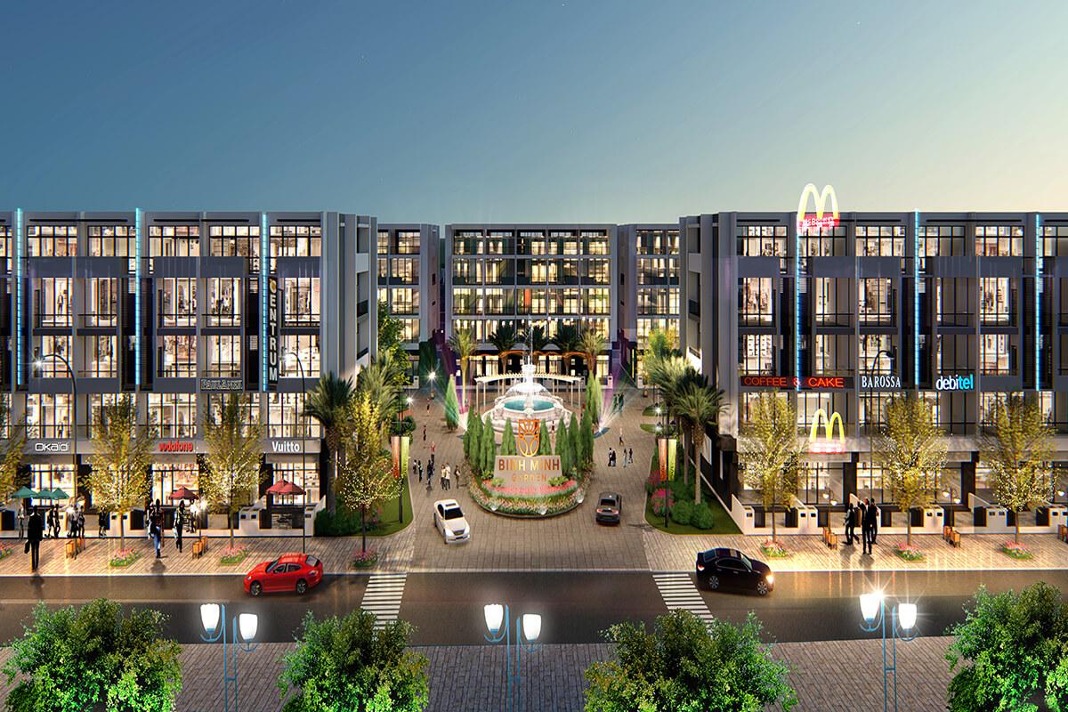 Shophouse Bình Minh Garden