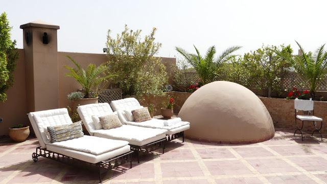 Riad Kniza, Marrakesch - Dachterrasse