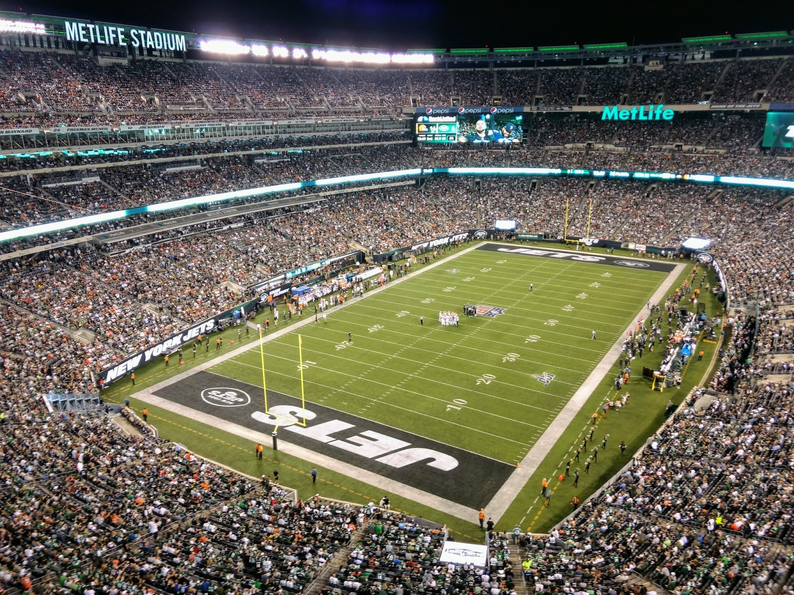 Scolin's Sports Venues Visited: #298: MetLife Stadium, East Rutherford, NJ