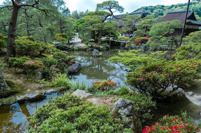 Jardines Ginkaku-ji en Kyoto