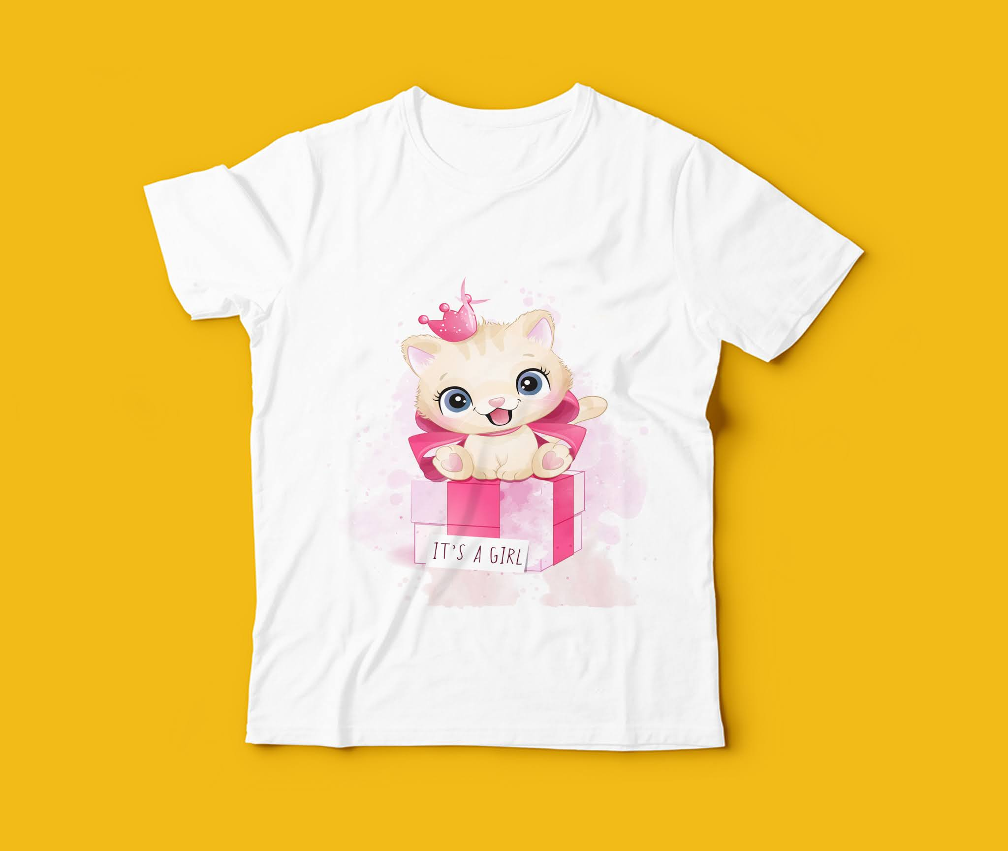 Vector designs of the highest quality for printing on kids' t-shirts, gorgeous 3D cartoon shapes