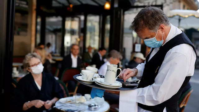 المهدية : 44 قرار غلق لمقاهي ومطاعم بسبب مخالفة البروتوكول الصحي
