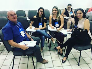 Secretariados executivo do municípal de Cacimbinhas participaram de capacitação em Maceió.
