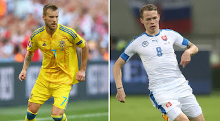 Ukraine vs Slovakia live stream Friday 10 November 2017 Friendly match