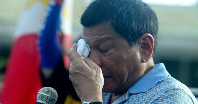 Pangulong Duterte Lungkot ang nadama sa pagtatapos ng 2017