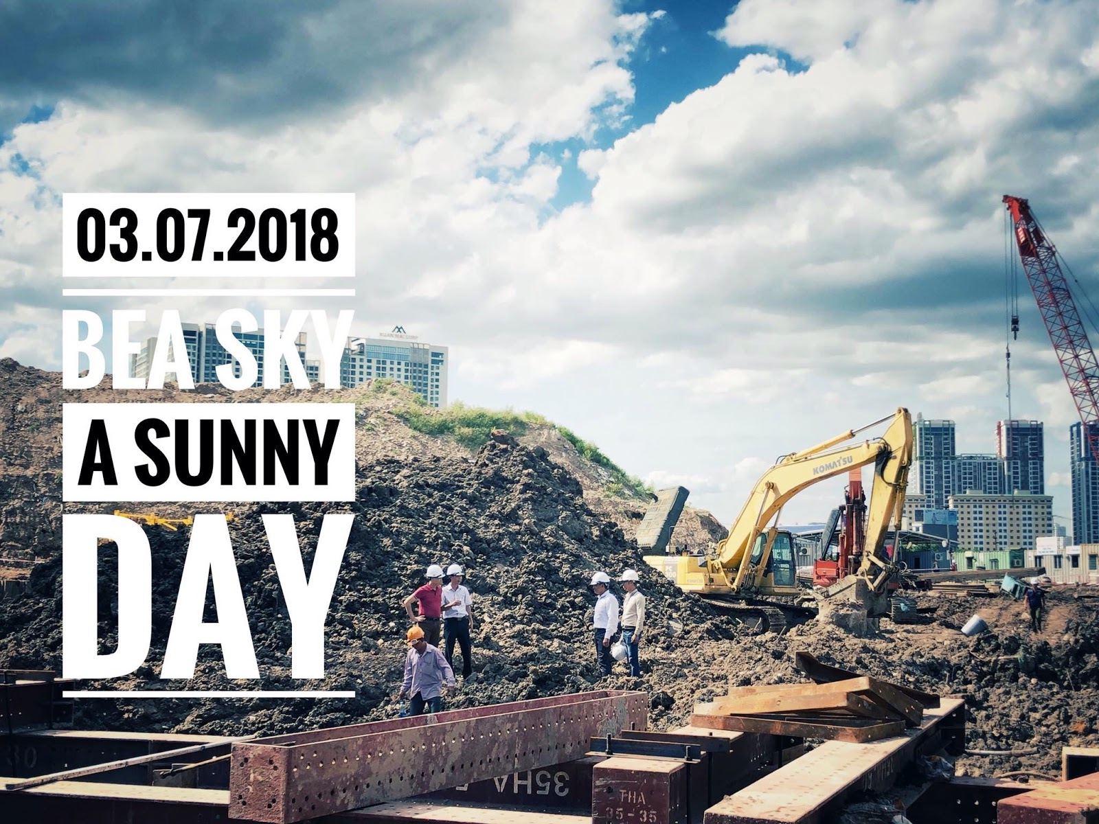 Tiến độ Xây Dựng Bea Sky Nguyễn Xiển Ngày 03-07-2018
