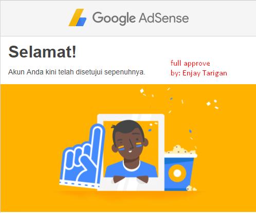 tips diterima google adsense 2018