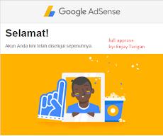 Cara Mudah Diterima/Disetujui Google Adsense Dengan Cepat