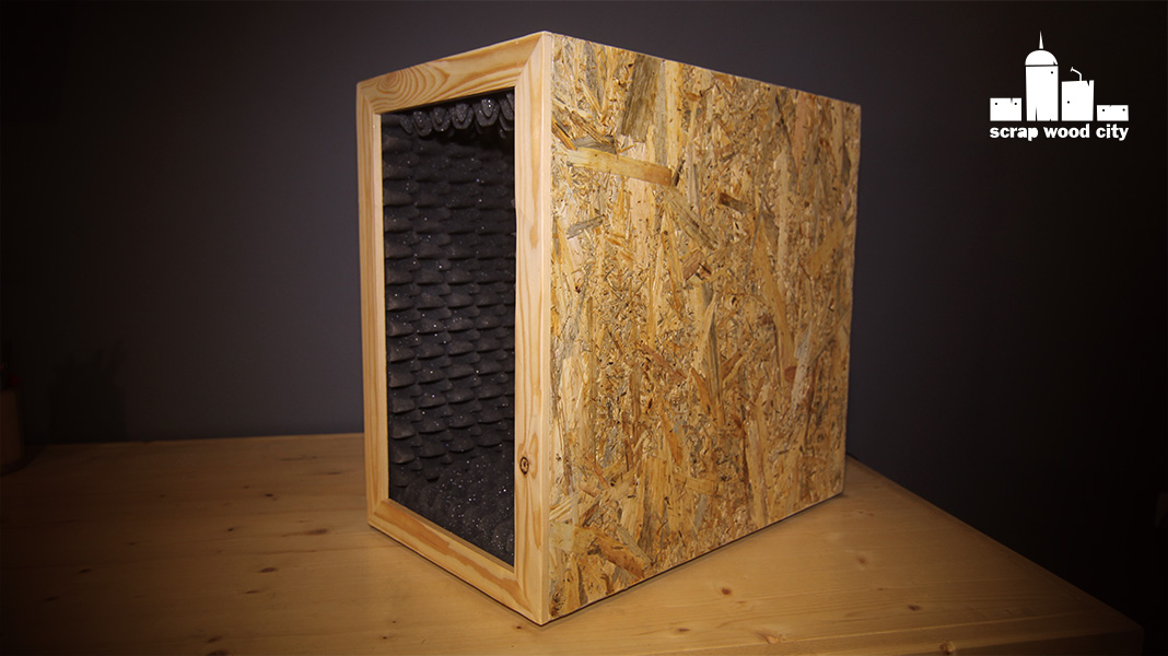 scrap wood city: How to make a portable DIY microphone booth for